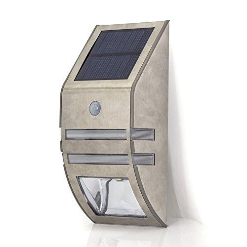 Solar Motion Sensor Super Bright LED Wall Mount Path Light SL-GYD607