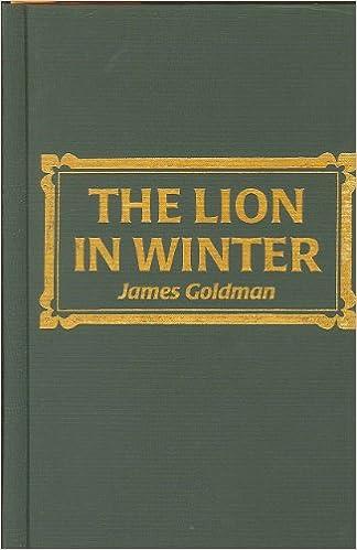 Download free new audio books mp3 Lion in Winter by James Goldman (Swedish Edition) PDF CHM ePub