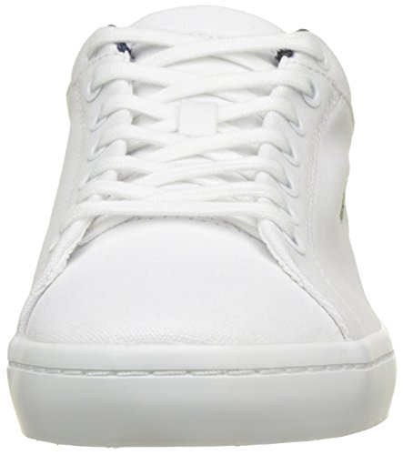 Lacoste Straightset Bl 2, Formatori Bassi Uomo, Bianco (White), 41 EU