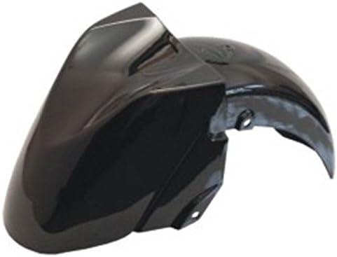 orig one by Camamoto cod 77380003C car/énage en plastique garde boue roue avant couleur noir brillant compatible avec yamaha t-max 500 de 2001 /à 2007 ref Yamaha 5GJ21511502Y
