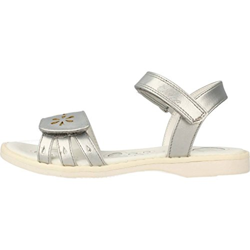 Chicco Baby Mädchen Claudiana Durchgängies Plateau Sandalen Silber