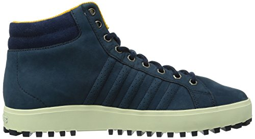 K-Swiss Adcourt '72 Boot~insigniablu/NVY/Gldng~m, Men's Hi-Top Sneakers Blue (Insigniablu/Nvy/Gldng/414)
