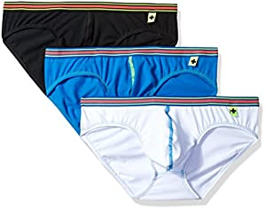 Andrew Christian Men's Tagless Boy Brief 3-Pack W/ Almost Naked