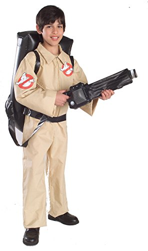 Sexy Ghostbusters Costumes (884320 (Medium 8-10) Kids Ghostbusters W Inflatable Backpack)