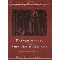 French Motets in the Thirteenth Century Paperback: Music