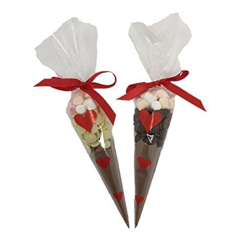 Luxury Belgian Hot Chocolate Valentines Day Cones Buy