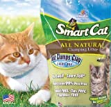SmartCat All Natural Clumping Litter, 20-Pound