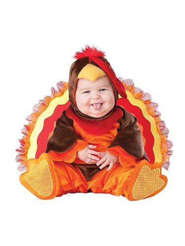 Lil Gobbler (Lil Gobbler Baby Infant Costume - Infant Large)