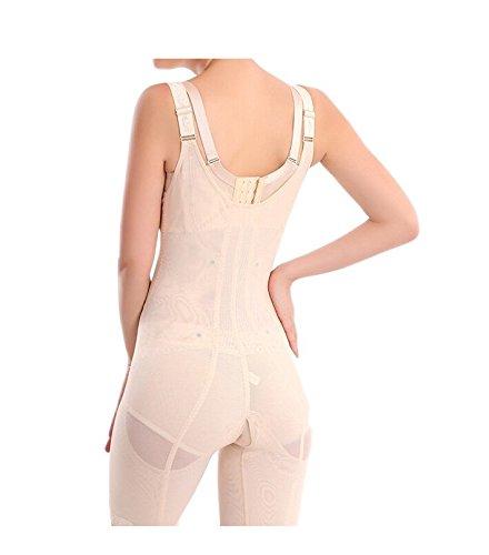 e4782142d68 Supplim Women s Body Shaper Waist Cincher Underbust Corset Bodysuit  Shapewear