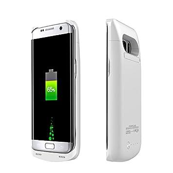 Galaxy S7 Edge recargable caso, fugousell 5200 mAh batería ...