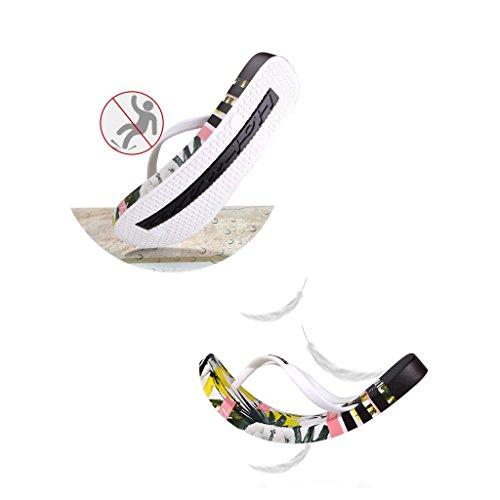 40 Piatto Scivolare Estate Da Spiaggia Sandali Pantofole dimensioni Scarpe Femminili Donna 7vqB4qwT1f
