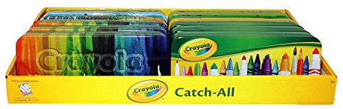 Crayola Metal Pencils (Pencil Box - Crayola - Catchall Case Metal Tin New 183707 (1 Style Only))