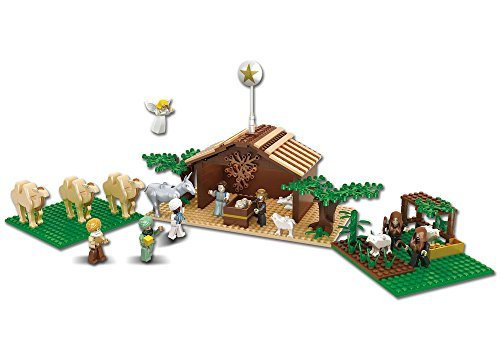 Nativity Bricks Ultimate Kids Nativity Set ()