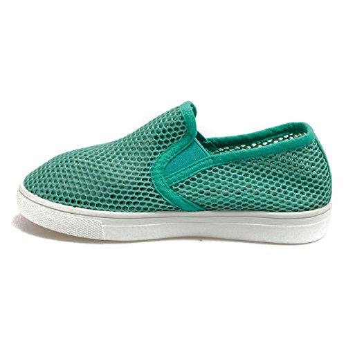 Colors of California Laceup20k filles, toile, sneaker slip on