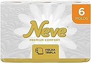 Neve Papel Higiênico Premium Comfort, 6 Rolos