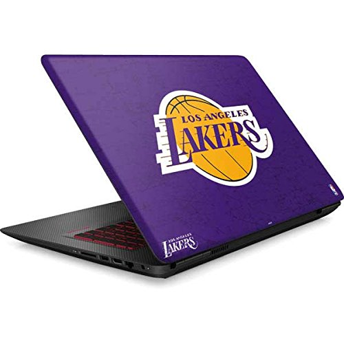 Skinit NBA Los Angeles Lakers Omen 15in Skin - Los Angeles Lakers Purple Primary Logo Design - Ultra Thin, Lightweight Vinyl Decal Protection by Skinit