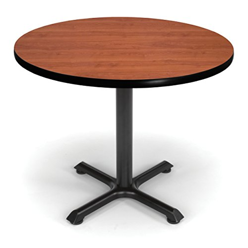 OFM Multi-Purpose Round Table, Cherry (XT36RD-CHY)