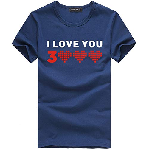 ✨Londony Dad I Love You 3048 Iron-Man Avengerss T-Shirt Fathers Mothers Day Summer Fashion Casual Men Tops Blouse