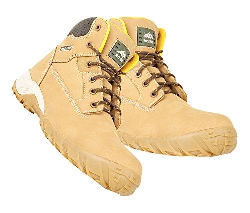 Bryson 18024 FLINT NubuckTrekker Non metallici-Stivali di sicurezza, misura 8/42