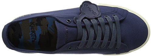 Kickers Tovni Lacer, Baskets Homme Bleu (Navy)