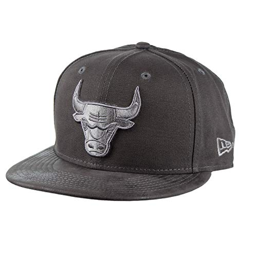 - New Era Chicago Bulls Sueded Up 9Fifty Snapback Cap Hat Grey 11826817 (Size OS)