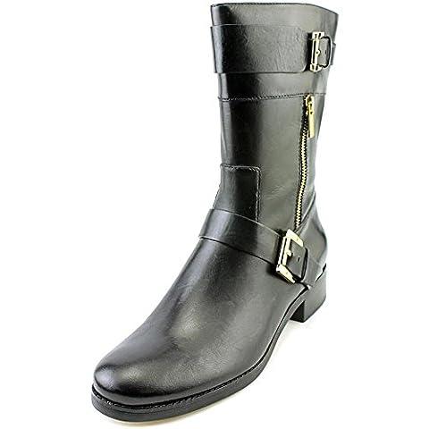 MICHAEL Michael Kors Women's Gansevoort Flat Boots, Black, 5 B(M)