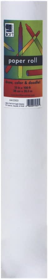 Childrens Easel Paper Roll 15In X 100 Ft