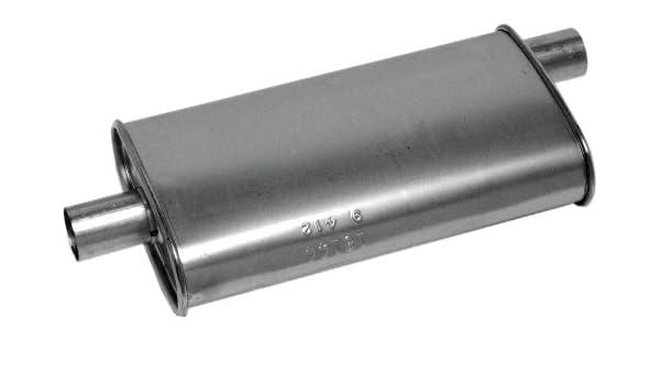 Exhaust Muffler-SoundFX Universal Muffler Walker 17195