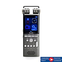 Professional Digital Voice Recorders By Savetek Voice Activated 16GB USB Spy Pen PCM 1536Kbps Time-Setting Function Mp3 Player - Smartphone and Cellphone Audio Recorders