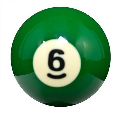 Amazon | スターリングゲーム交換用ビリヤードボール# 6 | Sterling ...