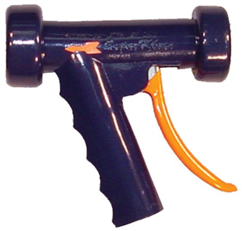 SuperKlean 150B-DB Pistol Grip Spray Nozzle, Brass, 1/2 NPT, Dark Blue