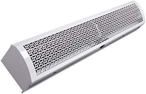 Lxn リモート・コントロールの白い極度の薄い金属の箱のコマーシャル/家の屋内2つの速度のエアカーテン、強力な、静かな、小さいボディ、ライト級選手