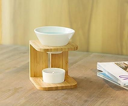 lámpara aromática de bambú Palitos de olor Dispensador de aroma CURVA