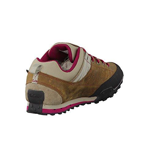 Timberland da donna scarpe da trekking Greeley Approach GTX marrone rosso vinaccia