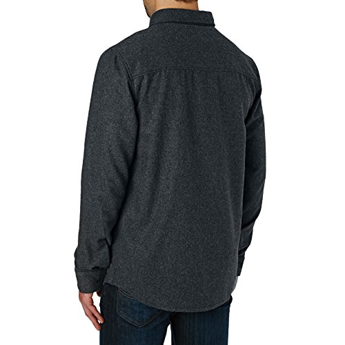 Quiksilver Travis Rice Wooly Shirt XX Large Grey Heather by Quiksilver (Image #2)