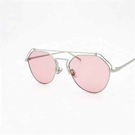 XIAOYUTOU Gafas De Sol Gafas de Color Caramelo Gafas de Sol ...