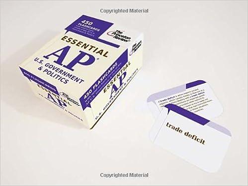 Essential AP U.S. Government & Politics (flashcards) (College Test Preparation)