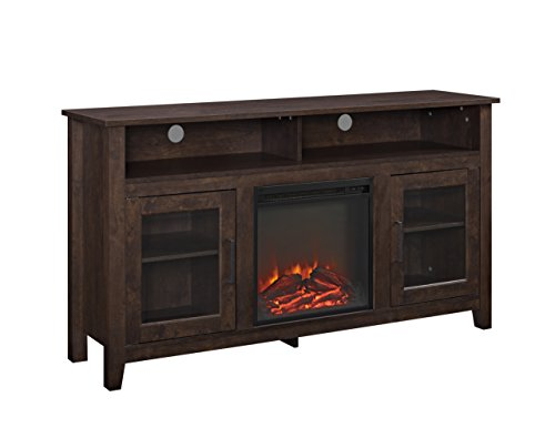 60 fireplace tv stand - 1