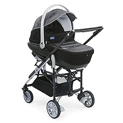 Chicco 4079123680000 Trio-Living - Carrito convertible (4 posiciones), color gris