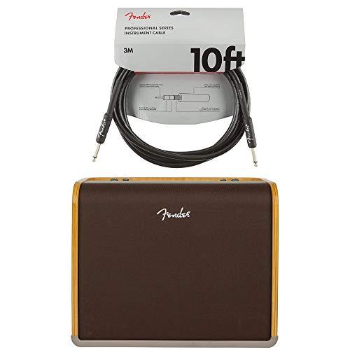 Fender Acoustic Pro 1x12 200W Combo Cable Bundle
