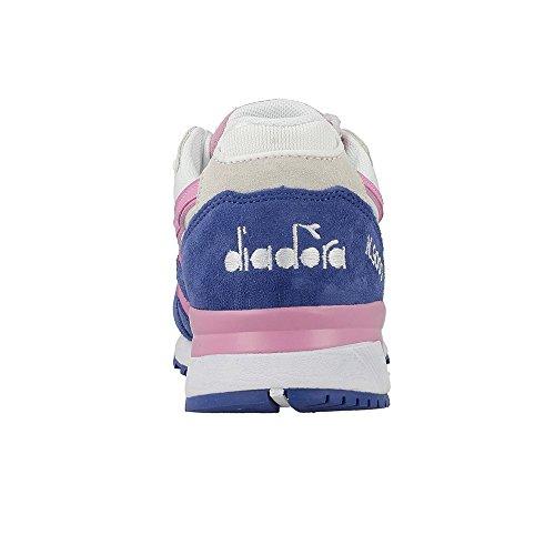Unisex N9000 bianco Adulto Diadora a rosa Basso Azzuro Collo III Sneaker PYZxwqgRH