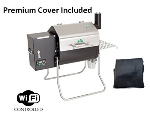 GMG 2018 Green Mountain Grill Davy Crockett Grill/Smoker With Cover – New Design