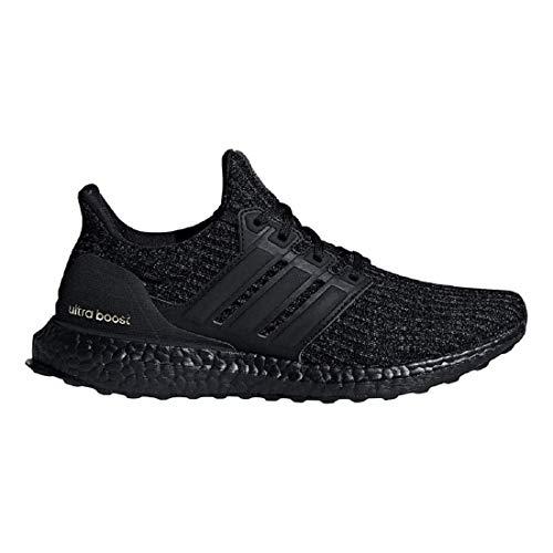 (adidas Women's Ultraboost Running Shoes (6 B US) Black)