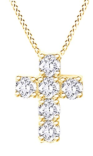 Yg Diamond Cross - 3