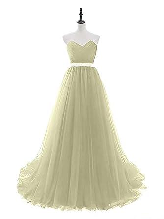 Damen Strass Maxikleid Cocktail Brautjungfern Meerjungfrau Abendkleid Ballkleid