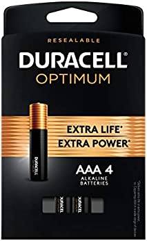 Duracell Optimum 1.5V Alkaline AAA Batteries