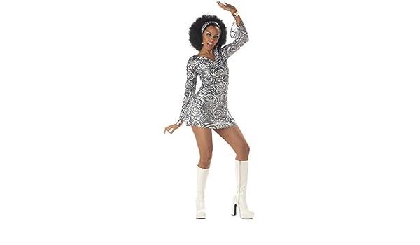 Generique - Disfraz Diva Disco Mujer L (42/44): Amazon.es ...