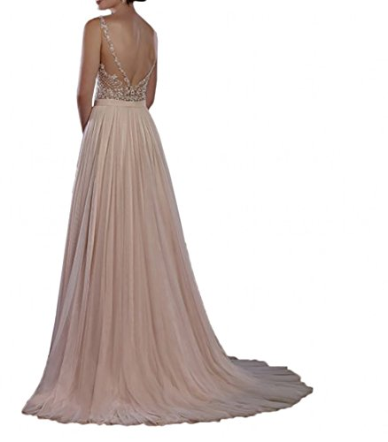 Tanzenkleider A Abendkleider Braut Lang mia La Wassermelon Rosa Dunkel Linie Partykleider Festlichkleider Ballkleider Spitze Brautjungfernkleider 5XqPH8xHw