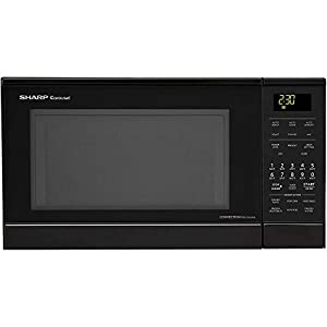 Sharp R830BK 900 Watts Convection Microwave Oven – It works very good.
