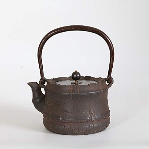 ZJN-JN キントー ティーポット 高級感 おしゃれ プレゼント 鋳鉄カンフーティーSet_1.2L鋳鉄工芸ロストワックス法はありませんカンフーティーセット 贈り物